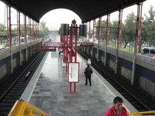 Metro Acatitla Platform
