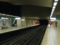 Porte de Hal Hallepoort Metro Station