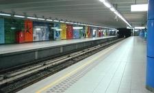 Heysel Metro Station
