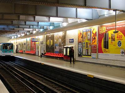 Rome Paris Metro