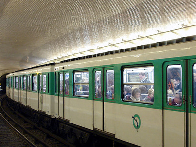 MF 67 Rolling Stock On Line 10 At Mabillon