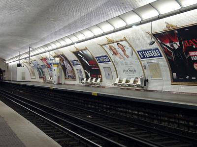 Line 3bis Platforms At Saint-Fargeau