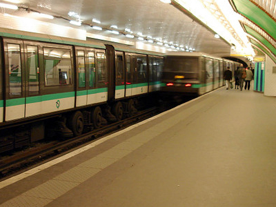 Porte Maillot Station