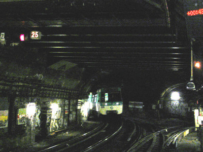 Separation Of The Tracks North Of The Station