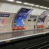 Platforms At Porte De Bagnolet