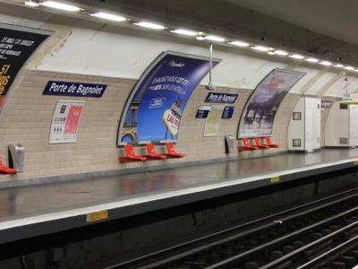 Platforms At Porte De Bagnolet
