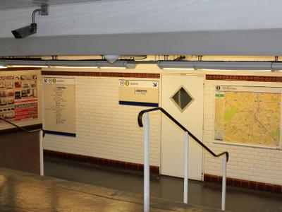 Porte De Bagnolet Station Concourse