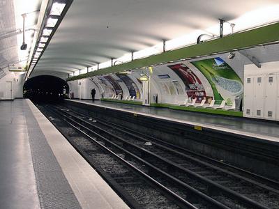 Line 3 Platforms At Quatre-Septembre