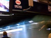 La estación de metro La Moneda