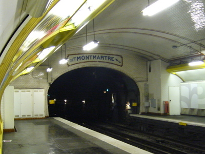 Line 12 Platforms At Falguiere