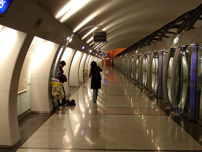Line 14 Platforms At Olympiades