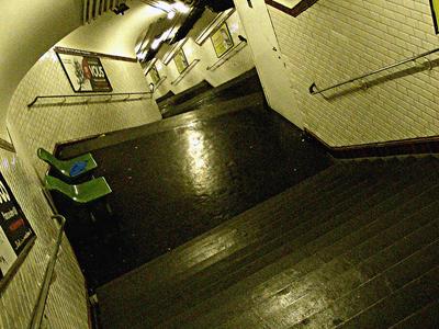 Stairs To Platforms At Telegraphe