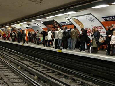 Line 6 Platforms At Trocadero