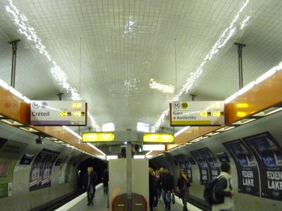 Line 8 And Line 10 At La Motte-Picquet - Grenelle