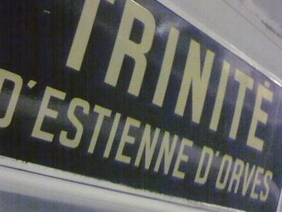 Trinité - D'Estienne D'Orves