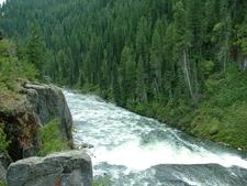 Mesa Falls Idaho