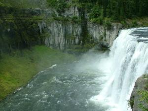 Alta Mesa Falls