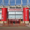 M F C Riverside Entrance