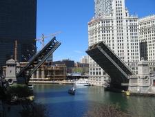The Michigan Avenue Bridge