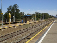 Mile End Railway Station