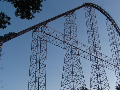 View Of Millennium Force
