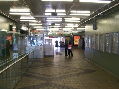 Milsons  Point Station Concourse