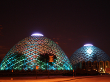 The Domes At Night
