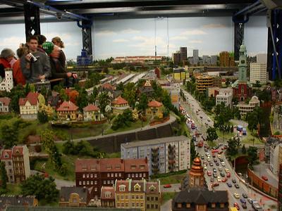 Hamburg Section Of Miniatur Wunderland