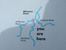 Missouri Headwaters Map
