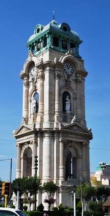 Tower Of The Monumental Clock Of Pachuca