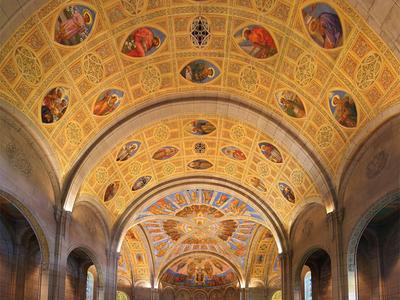 Montreal Church Interior