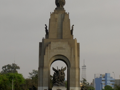 Peru And Ecuador War Monument