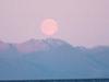Moonrise In Chatham Strait