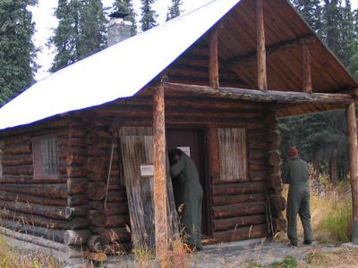 Moose  Creek  Shelter  Cabin