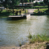 Hand Cranked Ferry On Mopan River In Belize