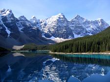 Reflections Of Ten Peaks On Moraine Lake