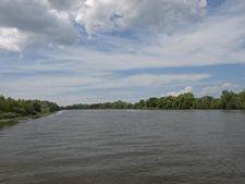 Moskva River In Kolomna