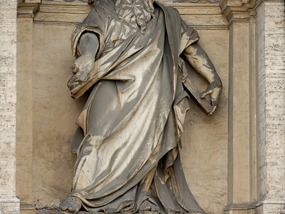 Fontana Dell'Acqua Felice, Statue Of Moses