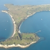 Motuihe Island From Above West
