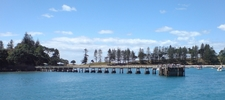 Motuihe Island Panorama Of Wharf