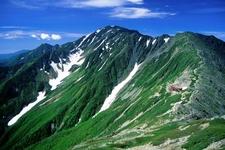 Mount Aino And Mountain Hut Kita