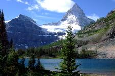 Mount Assiniboine From Sunburst Lake