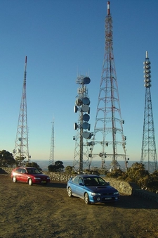 Transmission Towers Atop Mount Canobolas
