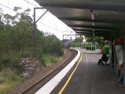 Mount  Colah Railway Station Platform