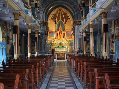 Mount Mary Church Interior
