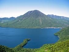 Mount Nantai And Lake Chuzenji
