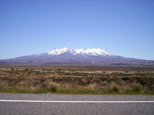 Ruapehu From The Desert Road