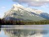 Mount  Rundle At  Dusk