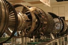 Full Motor Exhibited In Parts