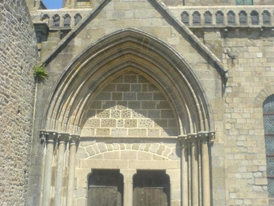 The Entrance To The Abbey